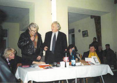 Alături de Marcel Petrişor 2001