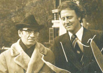 La Cumpătul, Împreună cu Marin Preda, octombrie 1977