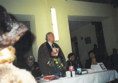 Sărbătorit la Brad, la 60 de ani 2001